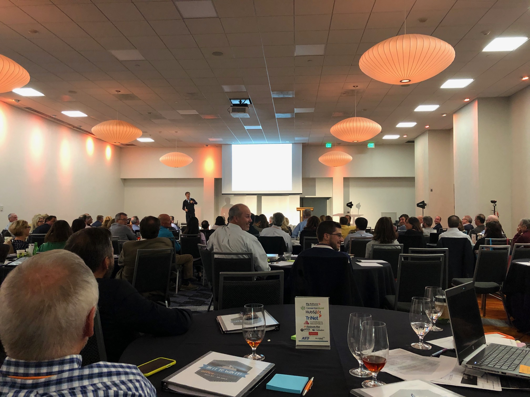 Workspace Franchisees Attending Office Evolution Presentation